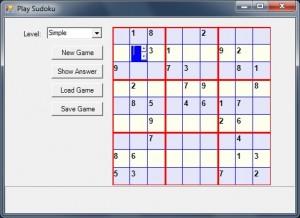 سورس کد بازی سودوکو در سی شارپ