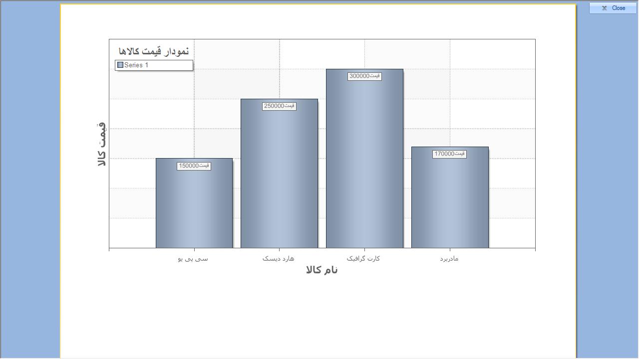 سورس کد چاپ نمودار با استیمول سافت در سی شارپ